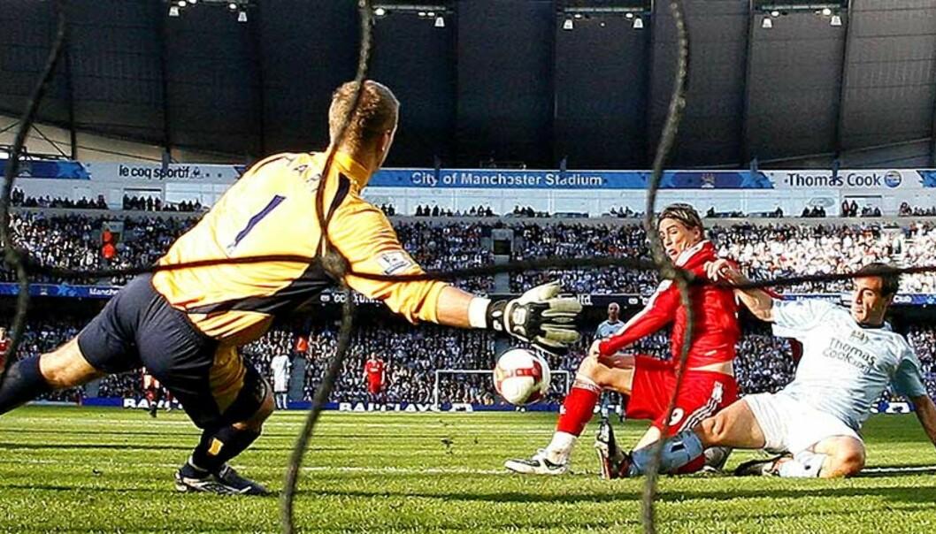 <strong><b>I DRØMMELAND:</strong></b> For Fernando Torres er det å spille for Liverpool en drøm som har gått i oppfyllelse. Derfor trodde han ikke noe på det, da Rafa Benitez ringte. Foto: AP