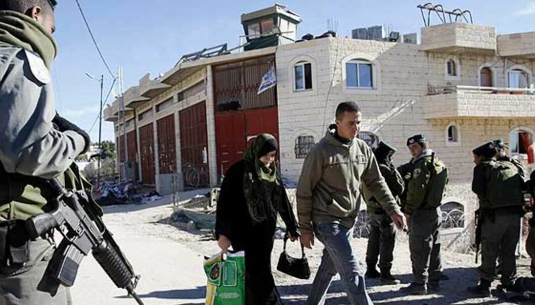 Sammenlikner Israels politikk med apartheid