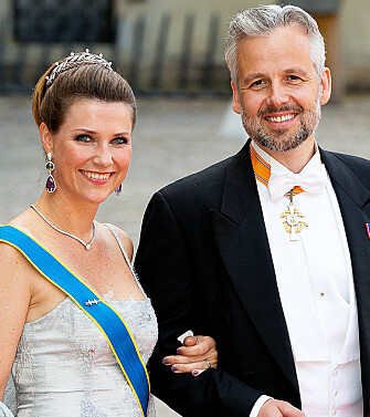 GIFT I 14 ÅR: Prinsesse Märtha Louise og Ari Behn. Foto: NTB Scanpix