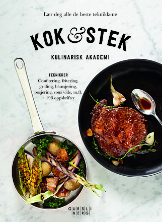 NY KOKEBOK: Kulinarisk akademi er ute med ny kokebok. Oppskriften på ribbe er hentet derfra.