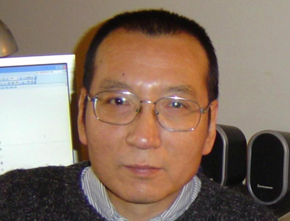 FREDSPRISVINNER: Dissidenten Liu Xiaobo
