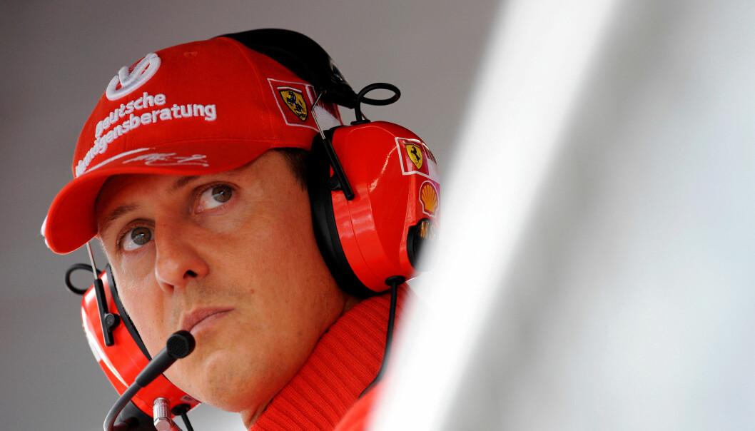 SKADET I ULYKKE: Michael Schumacher ble alvorlig skadet i en skiulykke for fire år siden. Siden da har ryktene rundt hans helsetilstand vært mange. Familien og nære venner holder informasjonen tett til brystet. Foto: REUTERS/Alessandro Bianchi