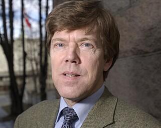 KRITISERER SANNER-FORSLAG: Tidligere ekspedisjonssjef Lorents Lorentsen i Finansdepartemenentet. Foto: Trygve Indrelid