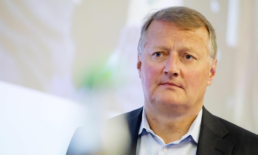 EIER: På eiersiden i selskapet som eier Selecta finnes både Oljefondet, DNB, Handelsbanken, KLP, Storebrand og også Danske Bank. Her konsernsjef i DNB, Rune Bjerke. Foto: Håkon Mosvold Larsen / NTB scanpix