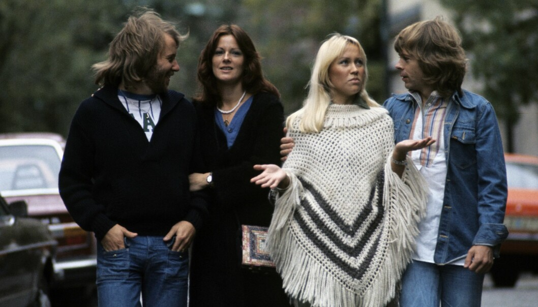 HERJET HITLISTENE: ABBA suste til topps på hitlister verden rundt på 1970- og 80-tallet. Foto: Scanpix