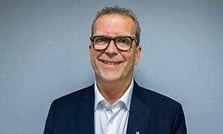 VIKTIG: Bjørn A. Kristiansen i Norges Døveforbund mener det er svært viktig at TV-programmer blir tekstet. Foto: Norges Døveforbund.