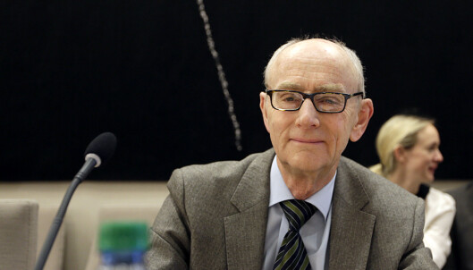KRITISK: Professor Jan Fridthjof Bernt. Foto: Vidar Ruud / NTB scanpix
