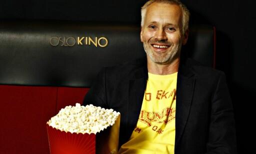 POPCORN VS VIN: Nå som Geir Bergkastet blir operasjef bytter han kanskje ut kinopopcorn med vin og kanapeer?