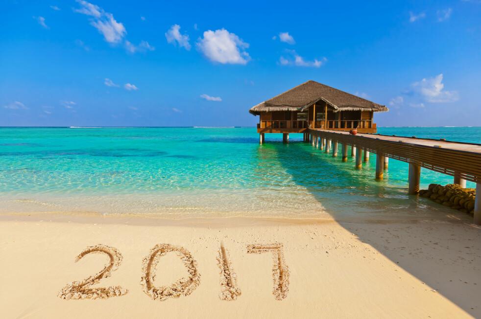<strong>VELKOMMEN FERIEÅRET 2017:</strong> Vi kan rope hurra for to flere fridager i 2017 enn det vi fikk i 2016. Til sammen har du ni ekstra fridager å glede deg til i det nye året, i form av ekstrafri som utløses av høytids- og helligdager. Foto: Shutterstock/NTB Scanpix