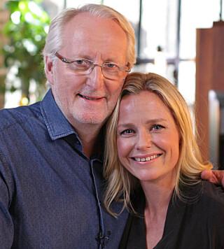 VENNER: Hellstrøm får besøk av Solveig Kloppen.