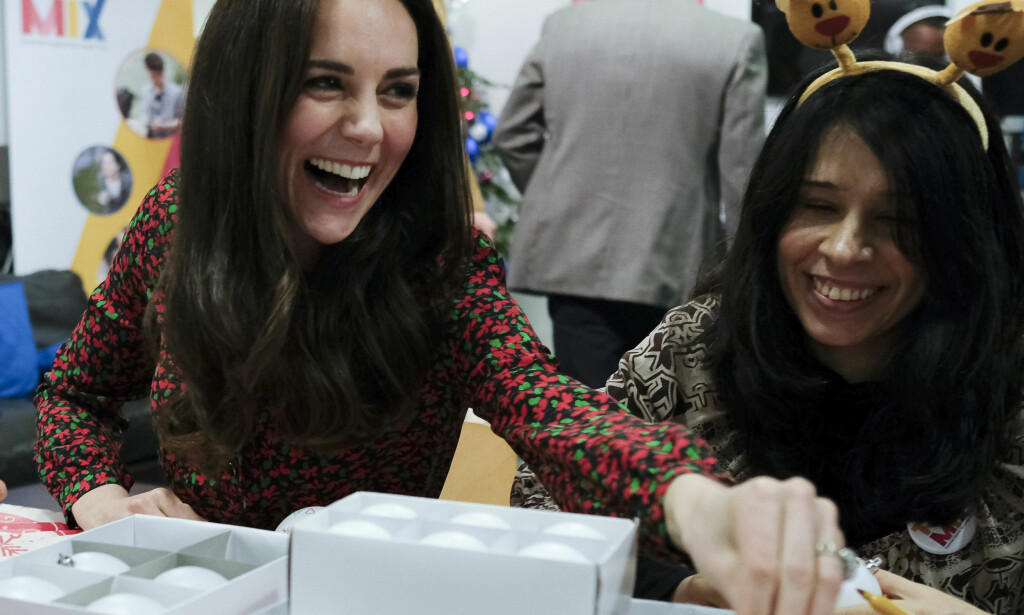 POPULÆR: Kate har sjarmert seg inn i det britiske folks hjerter.