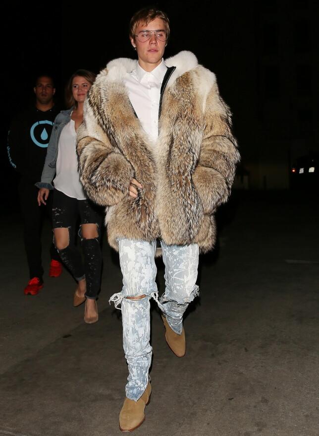 KONTROVERSIELL: Justin Bieber er kjent for å skape overskrifter på grunn av sin oppførsel utenfor konsertscenen. Foto: NTB Scanpix