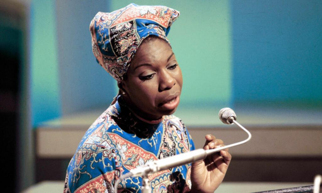 STERK SKJEBNE: Nina Simone var fabelaktig på scenen, men hennes liv var fullt av ups and downs.