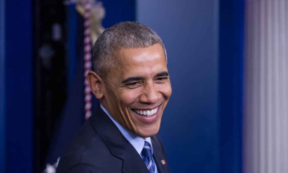 OLJESTANS: Barack Obama stanser fremtidig leteboring i Arktis. Foto: Cheriss May / NurPhoto / NTB scanpix