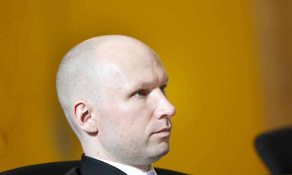 Rett over nyttår skal Anders Behring Breivik på nytt innta en rettssal. Foto: Lise Åserud / NTB scanpix