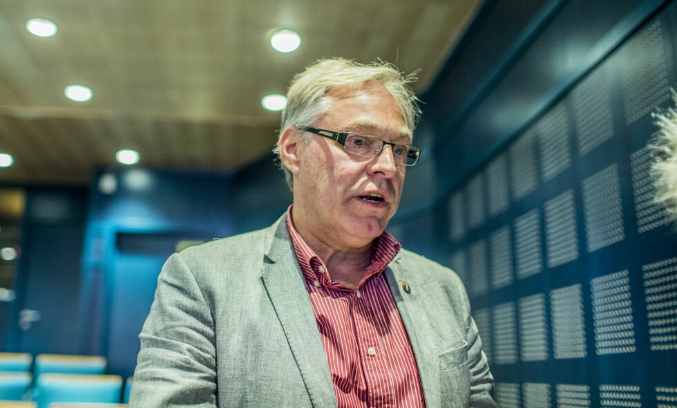IKKE FORNØYD: Sykkelpresident Harald Tiedemann Hansen føler norske syklister blir oversett i nominasjonen til Idrettsgallaen. Foto: Stian Lysberg Solum / NTB scanpix