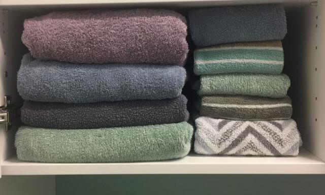 Modernistisk Hvordan brette håndklær? - Brett håndklærne med hotell-teknikken MW-37