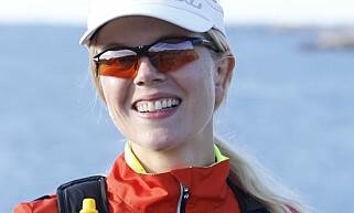 KJØTTFRI: Hilde Valbjørn Hagelin, driver bloggen Vegetarløperen og satsingen Grønn og Gira. Foto: Jonas Jørnberg