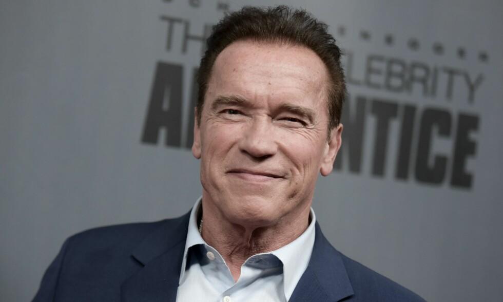 ÅPENHJERTIG: Arnold Schwarzenegger sier han aldri har likt sitt eget utseende. Foto: NTB Scanpix