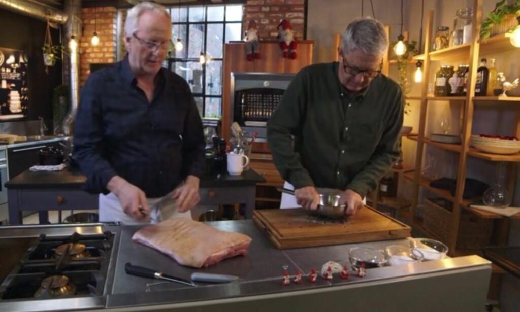 SE PÅ MENS DU KOKKELERER: De nye juleepisodene av «Hellstrøms kjøkken» på TV3 er lett tilgjengelig for deg med Get tv-app.