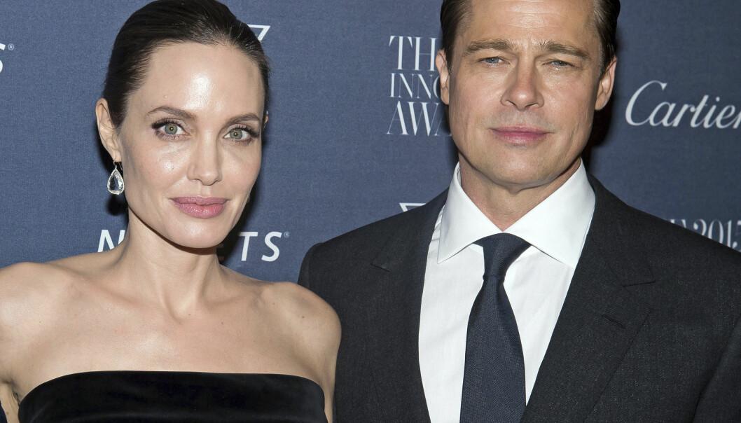 <strong>BITTER STRID:</strong> Angelina Jolie og Brad Pitt har tilsynelatende mye å rydde opp i etter bruddet i september 2016. Foto: Charles Sykes / Invision / AP / NTB Scanpix