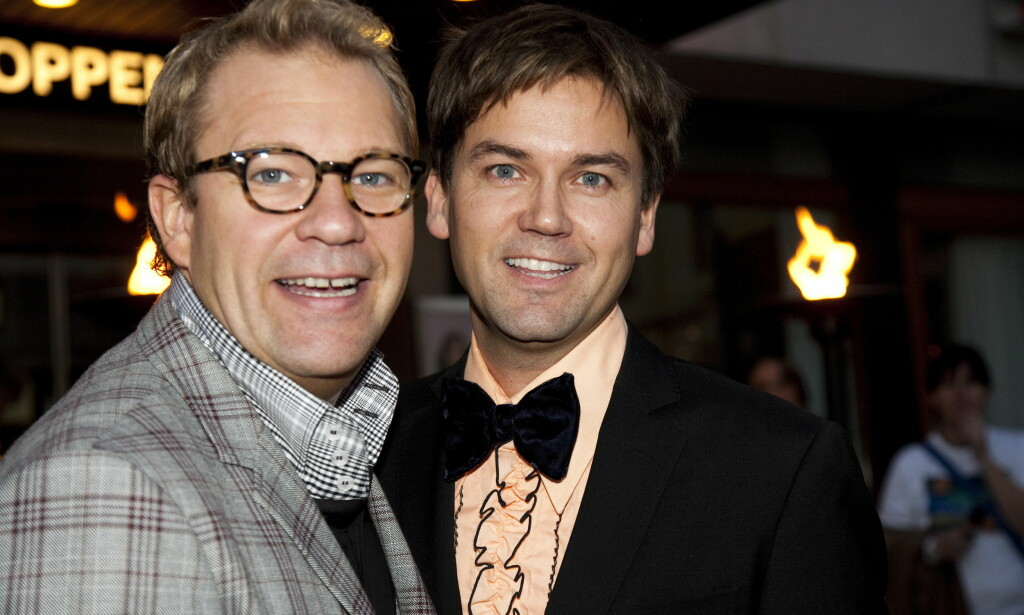 BRUDD ETTER 13 ÅR: Bjarte Hjelmeland og Terje Stenstad. Foto: Anders Grønneberg