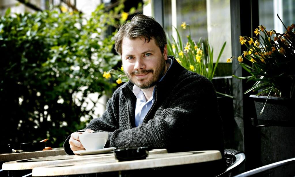 Ansvarlig: Nils August Andresen er ansvarlig redaktør i Minerva. Nå starter han nyhetsavis på nett. Andresen er utdannet økonomisk historiker, og han synger i Oslo. Foto: JACQUES HVISTENDAHL