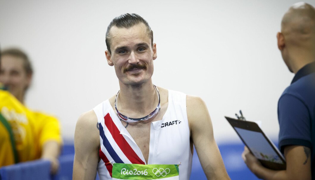 <strong>FORLOVET:</strong> Den norske friidrettsstjernen Henrik Ingebrigtsen har forlovet seg. Her er han avbildet under sommer-OL i Rio i 2016. Foto: Heiko Junge / NTB scanpix