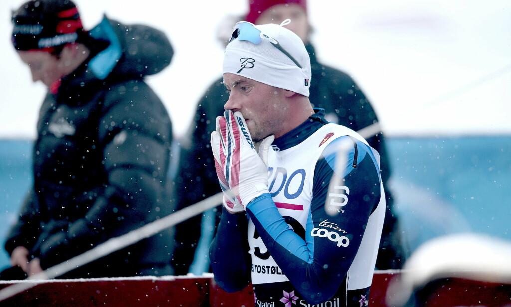 IKKE I FORM:   Petter Northug blir for første gang i karrieren hjemme fra Tour de Ski.  Foto: Bjørn Langsem / Dagbladet
