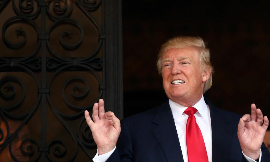 LEGGER NED STIFTELSE: Donald Trump legger ned sin kontroversielle stiftelse for å unngå interessekonflikter mens han er president. Foto: REUTERS/Carlos Barria