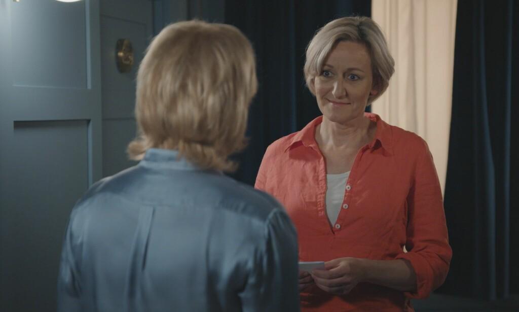 SKUMMEL: Linn Fylke skremte ikke bare de andre rollefigurene i serien, hun gjorde også inntrykk på TV-seerne. I desember var hun igjen tilbake på hotellet. Foto: TV 2