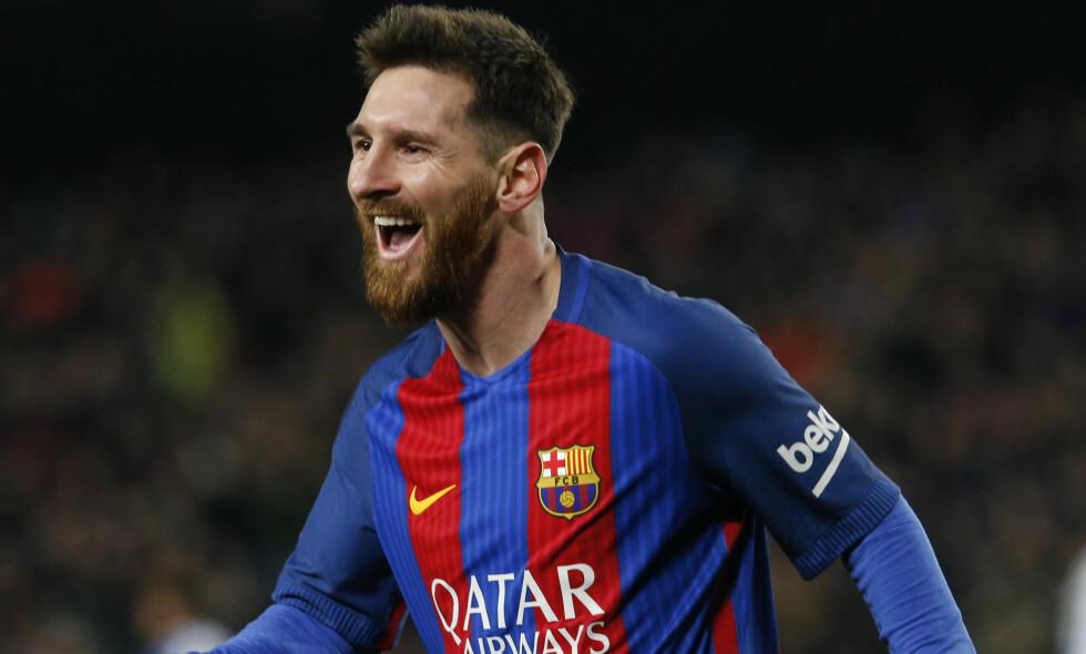 NUMMER TO: Barcelonas Lionel Messi. Foto: Xinhua/Sipa USA