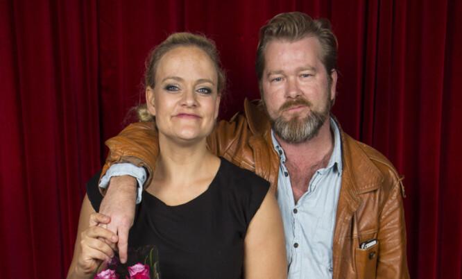 VAR GIFT I TI ÅR: Fridtjov Såheim og Henriette Steenstrup. Foto: Tor Lindseth