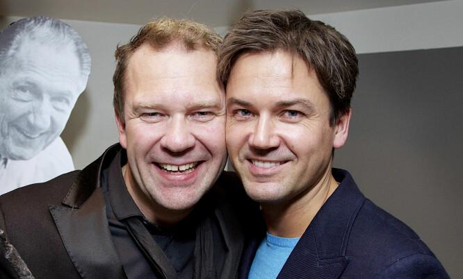 BRUDD ETTER 13 ÅR: Bjarte Hjelmeland og Terje Stenstad. Foto: Tore Skaar