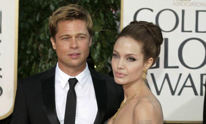 BRUDD ETTER 11 ÅR: Angelina Jolie og Brad Pitt. Foto: NTB Scanpix
