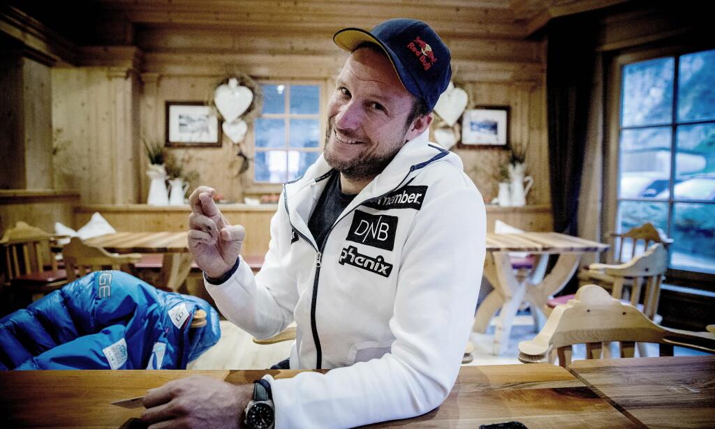 KNEPROBLEMER: Akkurat som i fjor, holder Aksel Lund Svindal på å bli frisk fra en kneskade foran sesongstarten. Foto: Bjørn Langsem / Dagbladet