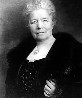 BERØMT: Selma Lagerlöf ble i 1909 den første kvinnen som vant Nobelprisen i litteratur. FOto: NTB Scanpix