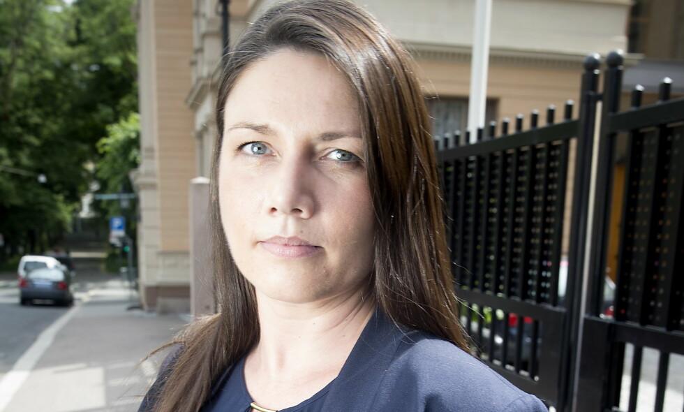 ADVARER: Heidi Nordby Lunde (H) ber de private omsorgsfirmaene rydde opp. Foto: Bjørn Langsem / Dagbladet