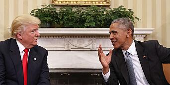 image: Obama mener han kunne vunnet årets presidentvalg. Trump: - Umulig!