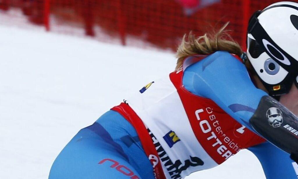 image: For en uke siden var Nina Løseth nummer tre da rennet ble avlyst. Erstatningsrennet startet ikke like bra