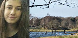 image: Emilie Meng (17) ble funnet død på julaften. Nå jakter politiet etter gjerningspersonen i et bestemt område