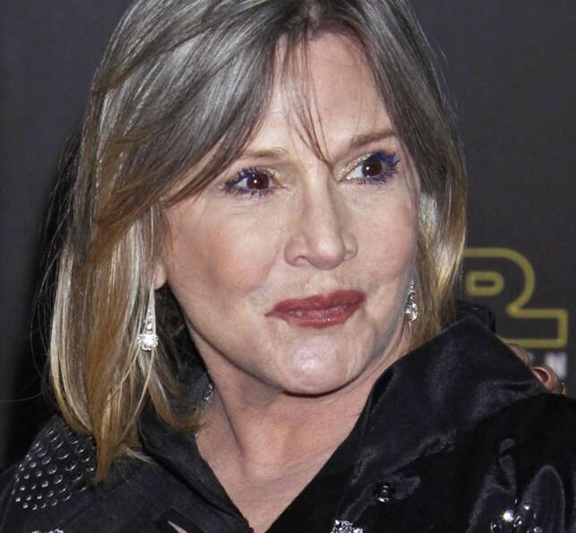 Carrie Fisher har tidligere åpnet opp om sine personlige problemer. Foto: NTB Scanpix