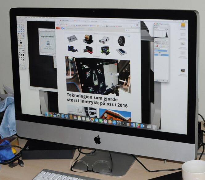 <strong>SOM NY:</strong> Nå kan vi utsete kjøpet av ny skrivebords-Mac noen år til. (Foto: Tore Neset)