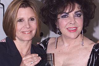 image: Carrie Fisher hadde rusproblemer og var psykisk syk. Hollywood-stemoren hennes hadde samme problemer