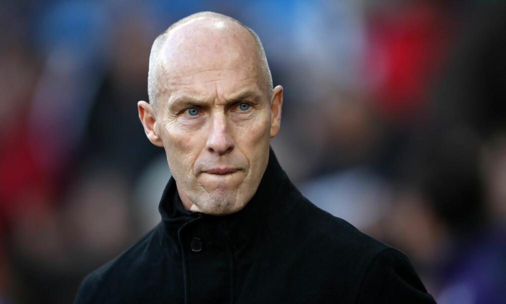 <strong>AKTUELL FOR NORGE?:</strong> Bob Bradleys agent er sikker på at amerikaneren er villig til å snakke med Norges Fotballforbund om landslagsjobben.  Foto: NTB Scanpix