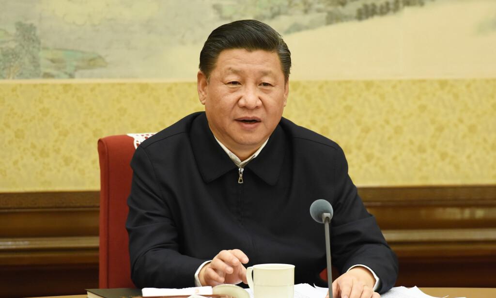 TYNGDEPUNKTET ØSTOVER: Kinas president Xi Jinping har store muligheter til å utvide Kinas maktssfære dersom han opptrer klokt, mener forskere. Foto: NTB Scanpix