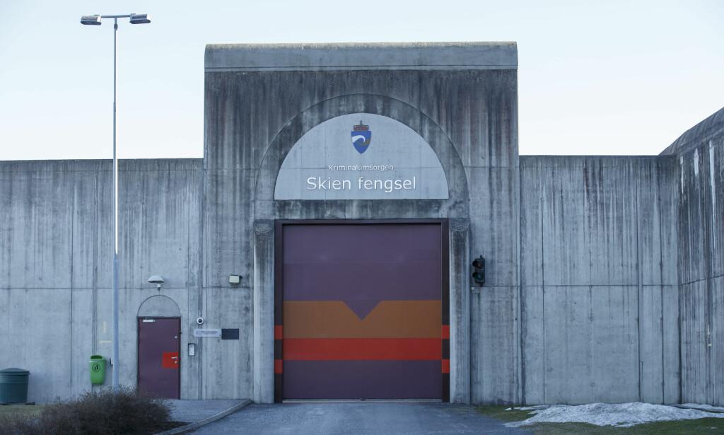 FLYFORBUD: Det blir etablert flyforbud rundt Skien fengsel når ankesaken mellom Anders Behring Breivik og staten starter på nyåret. Foto: Cornelius Poppe / NTB scanpix