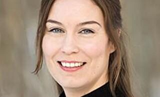 OM ASYLPOLITIKK: Hilde Michelsen.
