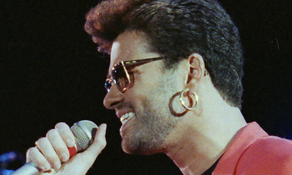 LAST CHRISTMAS: Artisten George Michael fikk sin siste jul, og døde første juledag. Foto: NTB Scanpix
