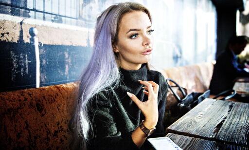 Oslo, 20151130. Bloggeren Sophie Elise  (20) nominert til årets navn i Dagbladet 2015. Aker Brygge Foto: Nina Hansen / Dagbladet